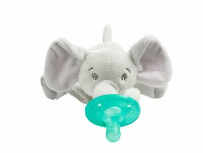 AU25.49 • Buy Philips Avent Soothie Snuggle Pacifier, 0-3 Months, Elephant, Scf347/03