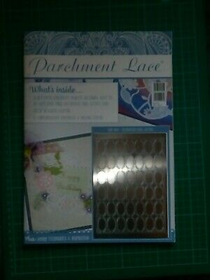 Parchment Lace Magazine With Grid • 7.99£