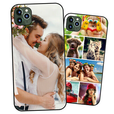 £4.89 • Buy Personalised PHOTO Case Phone Cover For IPhone - COLLAGE Image / Text / Logo