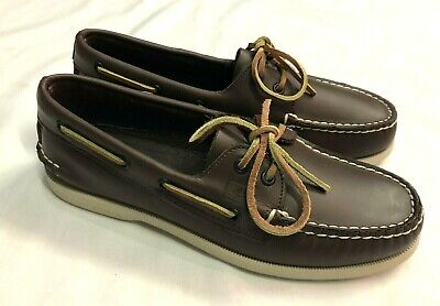 £75 • Buy Sperry Top Sider A/O Boat / Deck Shoe - Brown