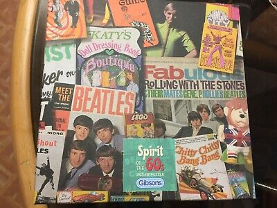 Gibsons  Spirit Of The Sixties 60s. 500 Piece Jigsaw Puzzle • 16£
