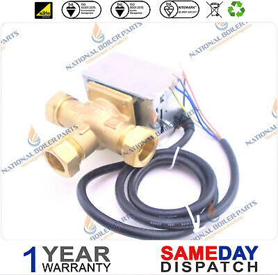 £42 • Buy 3 PORT MID POSITION VALVE 22mm ALTERNATIVE REPLACEMENT HONEYWELL V4073A1039