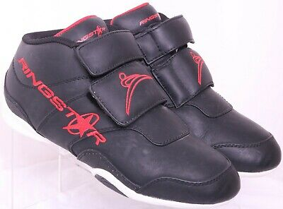 $39.99 • Buy RingStar Fight Pro Black Martial Arts Sparring High-Top Boxing Shoes Men's US 7