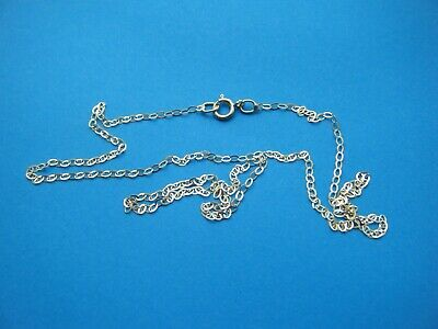 9ct Gold Fine Trace Chain 20 Inches Long.Bright Cut So Really Catches The Light • 19.99£