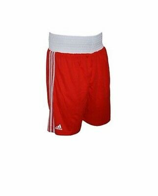 Mens Adidas Red Base Boxing Shorts Size XXL New Wirh Tags • 7.50£