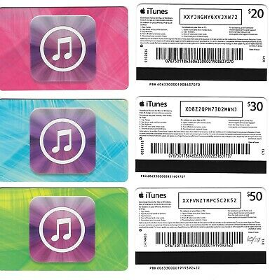 AU4 • Buy FOR COLLECTION ONLY - 3 X USED Australia APPLE ITunes Gift Cards Set , NO CREDIT
