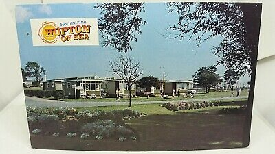 Vintage Postcard Holimarine Holiday Village Chalet Park Hopton On Sea Norfolk • 14.75£