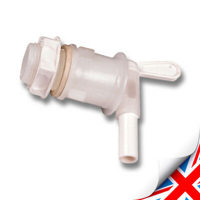 Brand New Lever Tap For Fermentation Bucket - Home Brew Wine Or Beer 360 DEGREEN • 6.49£