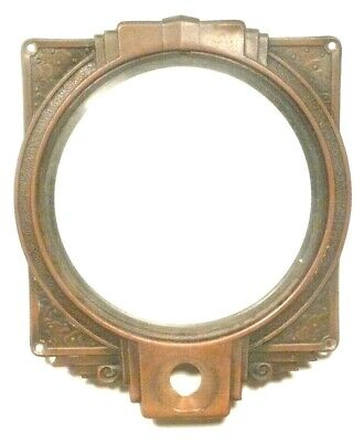 $ CDN57.09 • Buy Vintage SILVERTONE 1944  RADIO Part: BRASS FACEPLATE W/ SCREWS & CIRCLE GLASS