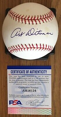 $ CDN52.92 • Buy Art Ditmar Licensed Psa/dna Authenticated Signed New Major League Game Baseball