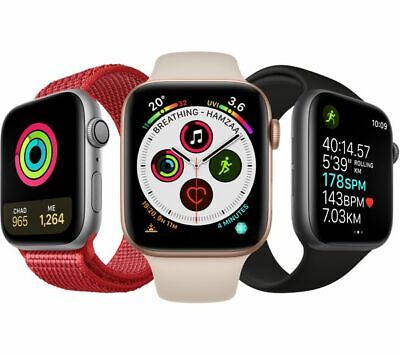 $ CDN380.70 • Buy Apple Watch Series 4 Aluminum 44MM GPS Only - Gold Silver Space Gray | Excellent