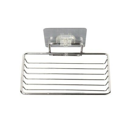 Self Adhesive Soap Dish Stainless Steel Bathroom Rack Stainless Steel Soap Dish • 4.99£