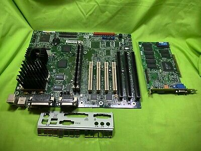 $50 • Buy Vintage Intel AN430TX Yamaha Onboard MIDI Motherboard W/ CPU RAM & Graphics Card