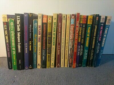$5 • Buy E E Doc Smith Classic 1950s Science Fiction LOT Of 21 Books