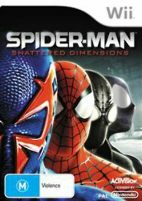 AU30.95 • Buy Spider-Man Shattered Dimensions Wii Game USED