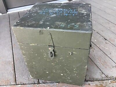 $ CDN119.70 • Buy Instrument Observation Aa Bc M1 Box Wwii Us Army Box