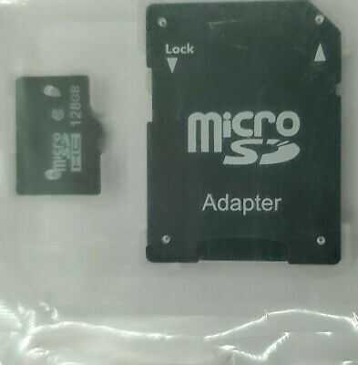 $5 • Buy Micro SD 128 GB Universal Flash TF Memory Card HC Class 10 With Adapter NEW