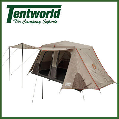 AU399.90 • Buy Coleman 8 Person Instant Up Full Fly Camping Tent Silver Series Side Entry
