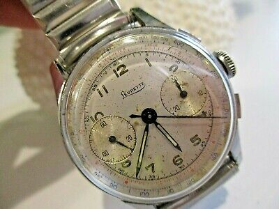 $ CDN493.59 • Buy Vintage Levrette Telemeter Chronograph Stopwatch Watch Swiss Made