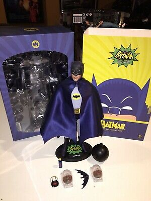 $ CDN462.83 • Buy Hot Toys Batman Adam West MMS218 1:6 Figure 1/6 Complete 1966 TV Series