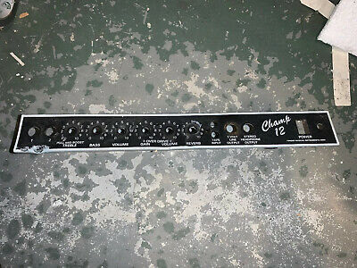 $ CDN19.65 • Buy Fender Red Knob Champ 12 Tube Amp Metal Chassis For Parts Or Repair