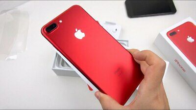 Apple IPhone 7 Plus - 128GB - Product Red - (Unlocked) Limited Edition- Pristine • 209.95£