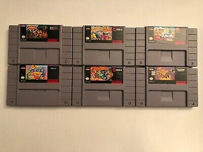 $ CDN120 • Buy Lot Of 6 Uncommon / Rare SNES (Super Nintendo) Games: Congo's Caper, Out Lunch +