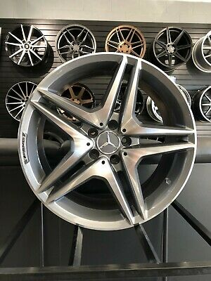 $1000 • Buy 19  Staggered Gunmetal 5 Spoke AMG Style Wheels For S400 S430 S500 S550 5x112