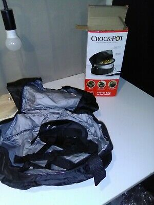 $ CDN25.31 • Buy Crock Pot Thermal Travel Bag For 4-7 Qt Slow Cookers Portable