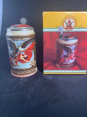 $ CDN30.24 • Buy Budweiser Archives Series Lidded Beer Stein, 1993, 1905 Ganymede, #04489