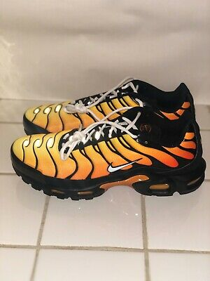 $114.99 • Buy Nike Air Max Plus OG Tiger TN Air Black Red Mens Shoes [852630-040] Size 13