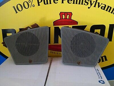 $89 • Buy 1980-81 Firebird Trans Am Front Speakers Grilles Nice Set With Speakers !!!!!!!!