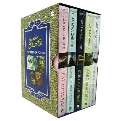 £18.65 • Buy Agatha Christie The Best Of Poirot 5 Books Box Set Collection Pack