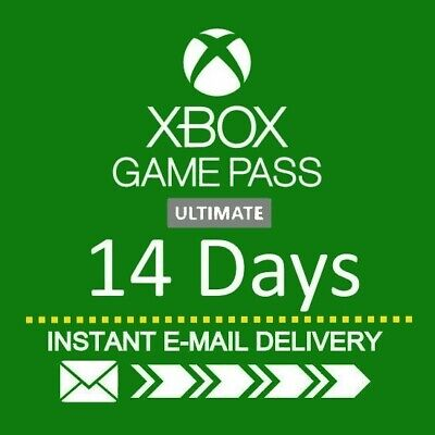 $2.50 • Buy XBOX LIVE 14 Day GOLD + Game Pass (Ultimate) Trial Code INSTANT DISPATCH
