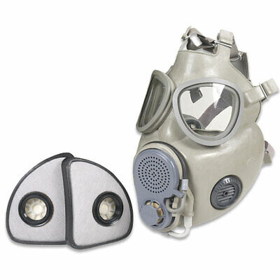 $42.88 • Buy Military Czech Gas Mask M10M With Hydration Straw Filters Emergency Survival NBC