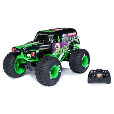 Monster Jam Truck Grave Digger With RC 1:10 Kids Remote Controlled Toy Trucks • 97.98£