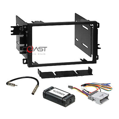 $49.95 • Buy Car Radio Stereo 2 Din Dash Kit Standard Bose Harness For 2000+ GM GMC Chevy
