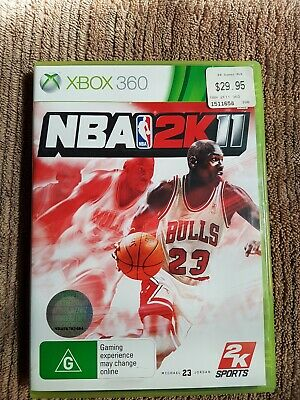 AU22 • Buy NBA 2K11 - XBOX 360 Game Complete With Manual (PAL) Fast Free Postage