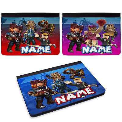 Personalised Roblox IPad Case Gamer Cover Initial Boys Gift Apple All Models • 24.95£