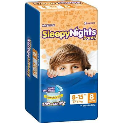 AU64.72 • Buy Babylove Overnight Pants 8-15 Years Old - 8 Pack Carton4