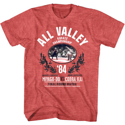 $21.24 • Buy Karate Kid Cobra Kai V Miyagi-Do Men's T Shirt 1984 Final All Valley Movie Merch