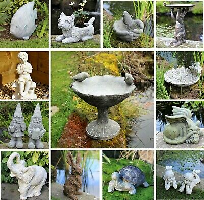 £16.95 • Buy Garden Ornaments Decor Unique Statue Sculpture Patio Angel Buddha
