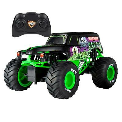 Monster Jam Truck Grave Digger With RC 1:15 Kids Remote Controlled Toy Trucks • 65.94£