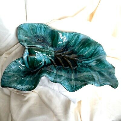 $ CDN39.99 • Buy Canadian Blue Mountain Pottery ~ Large Leaf Shaped Dish