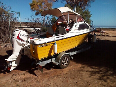 AU13500 • Buy Silverline Half Cabin  Price Dropped Boat Must Sell