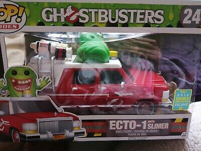 Pop Vinyl - Rides - Ghostbusters - Slimer With Red Ecto -1 -  Sdcc 2016 - Exclus • 32.99£