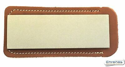 Eze-Lap 2″ X 6″ Coarse  Grit Diamond Bench Stone (250) With A Leather Pouch • 39.95£