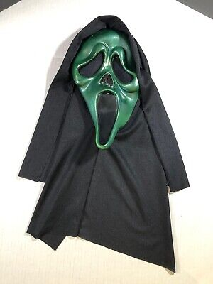 $ CDN99.99 • Buy Vintage Scream Mask Ghost Face Easter Unlimited Metallic Green Rare