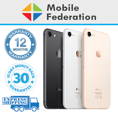 AU309 • Buy Apple IPhone 8 Touch ID/Home Button Imperfect 64GB 256GB A1863 Unlocked