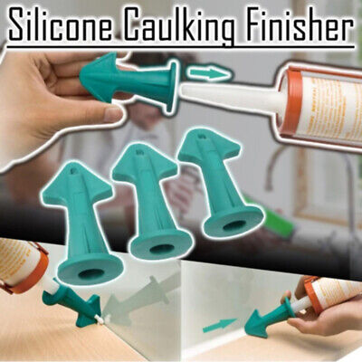 AU11.49 • Buy 3 In 1 Silicone Caulking Finisher Sealant Nozzle Spatula Filler Spreader Tool AU